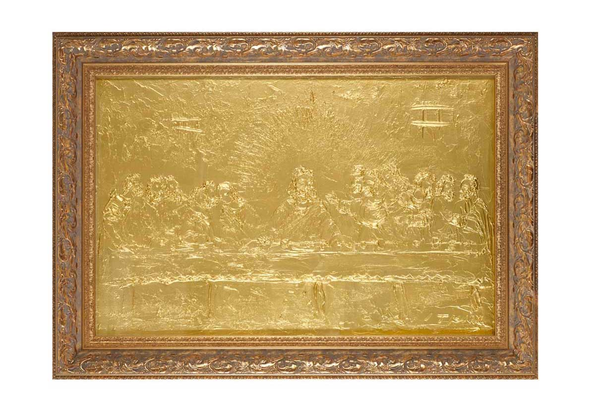 The Last Supper 120.5cm x 86cm (includes frame)